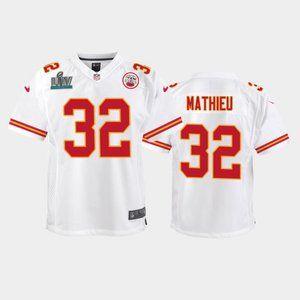 Youth Chiefs Tyrann Mathieu Super Bowl LIV Jersey